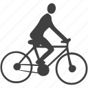 cycle, cycle lane, cyclist, lane icon
