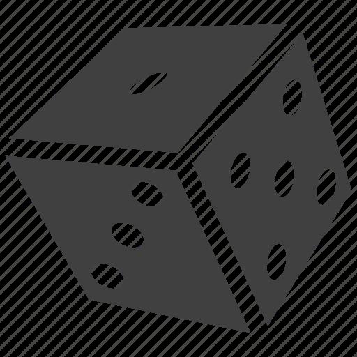 ace, bingo, board, casino, dice, game, pack, web icon
