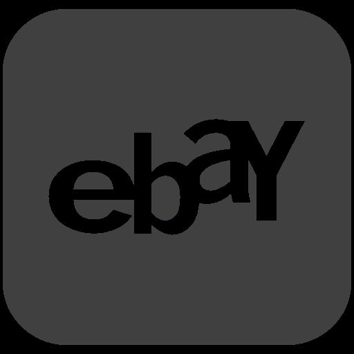 ebay, logo, online, shopping icon