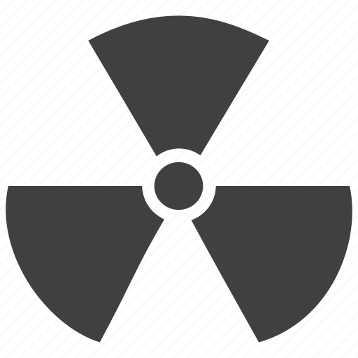 atomic, danger, energy emission, hazardous, nuclear reactor, radiation, sig icon