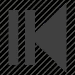backward, button, fast, media icon