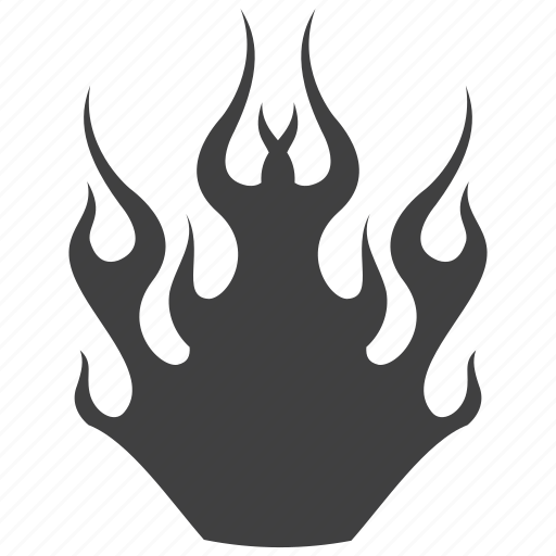 burn, dangerous, fire, flame, hazardous icon