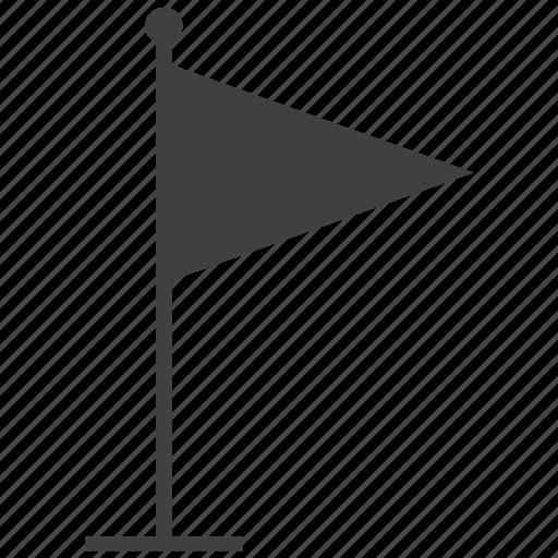 ball, flag, game, golf pole, sport icon