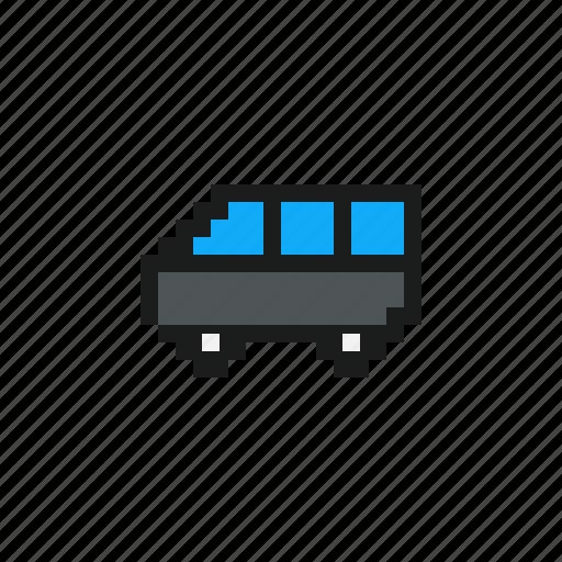 car, cars, pixel car, pixels car, van, vehicles icon