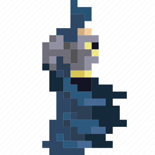 batman, comic, dark, hero, knight, retro, superhero icon