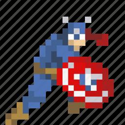 america, captain, comic, roger, shield, stevens, superhero icon