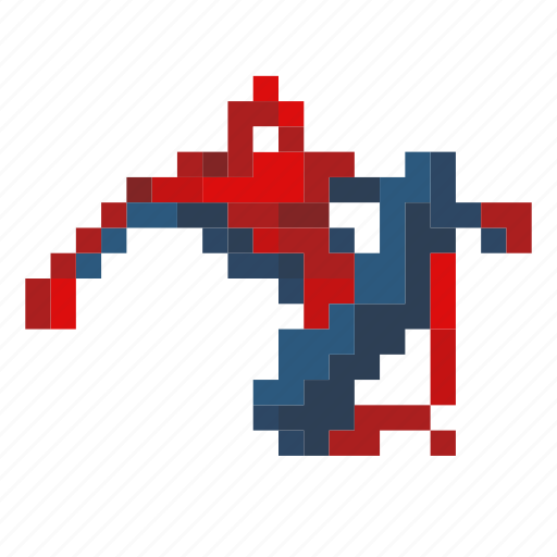 comic, power, spider, spiderman, superhero, swing icon