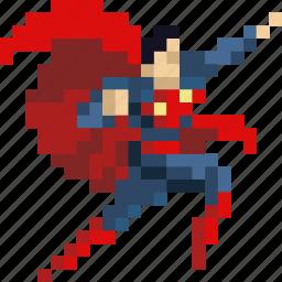 clark, comic, hero, kent, super, superhero, superman icon
