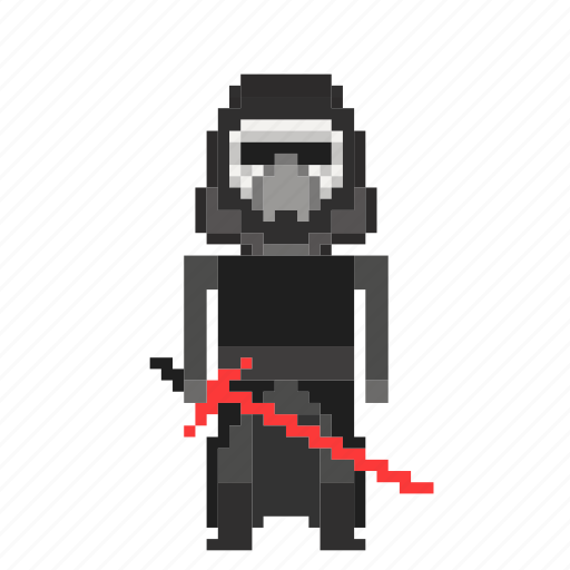avatar, kylo, kylo ren, man, person, pixels, ren, star wars, starwars icon