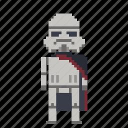 avatar, captain, captain phasma, man, person, phasma, pixels, star wars, starwars icon