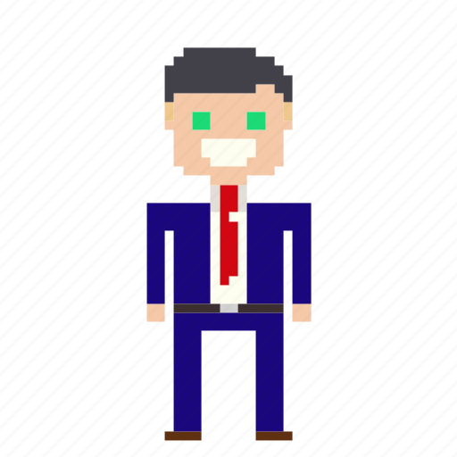account, business, businessman, finance, financial, man, manager, person, pixels, profile, suit, user icon
