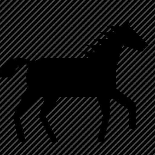 animal, horse, horseback, manege, ride icon