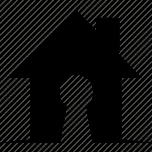 home, privacy, private, safe, secret icon