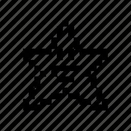 emoticon, happy, pixel art, star icon