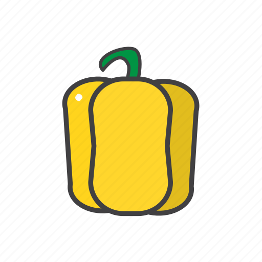bellpepper, food, ingredients, pizza topping icon