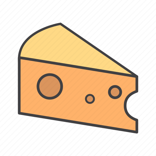 cheese, food, ingredients, pizza topping icon