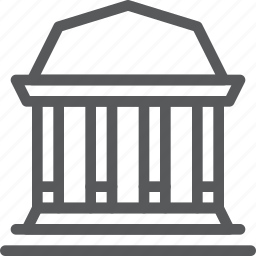 bank, building, business, money, save, shopping, transfer icon