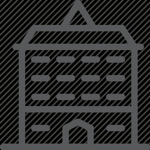 apartment, architecture, building, city, estate, home, property icon