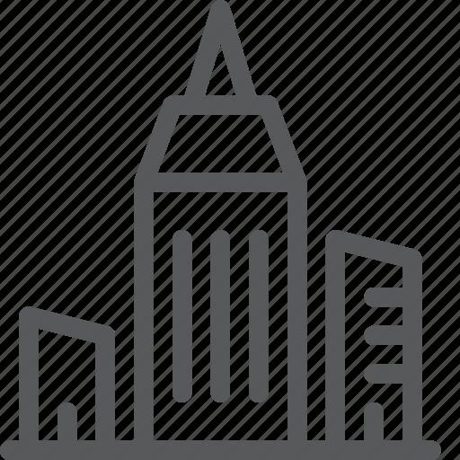 architecture, building, city, estate, monument, property icon