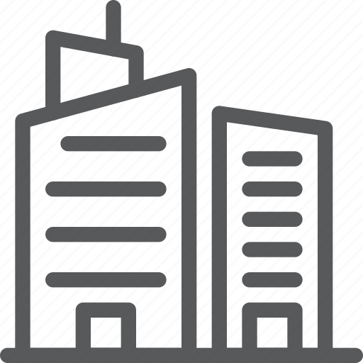 architecture, building, city, construction, estate, property icon