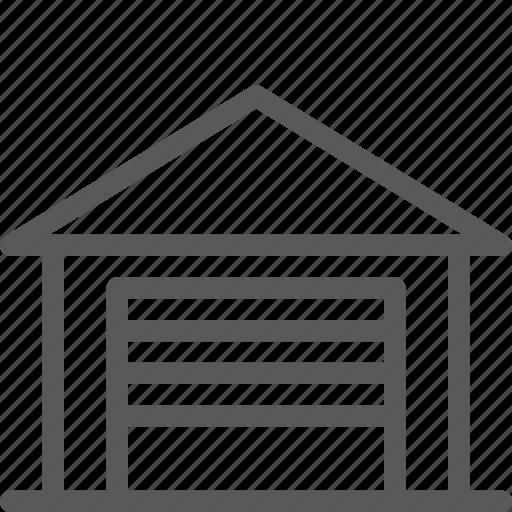 car, company, garage, park, production, service, storage icon