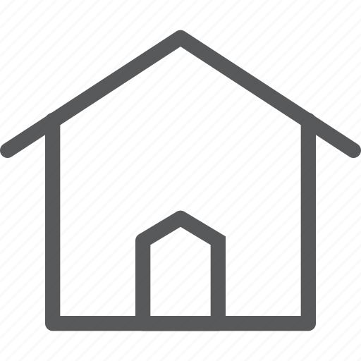 apartment, estate, home, house, location, place, private icon