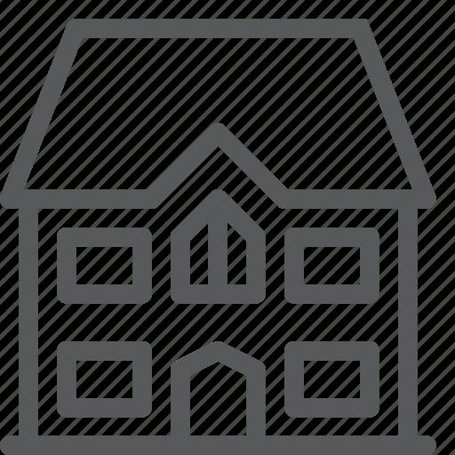 apartment, building, estate, home, house icon