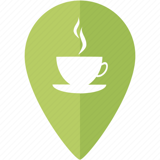 Marker, coffee, place, location, fika, friends icon - Download on Iconfinder
