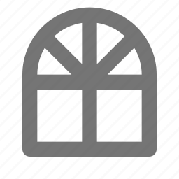 building, window icon