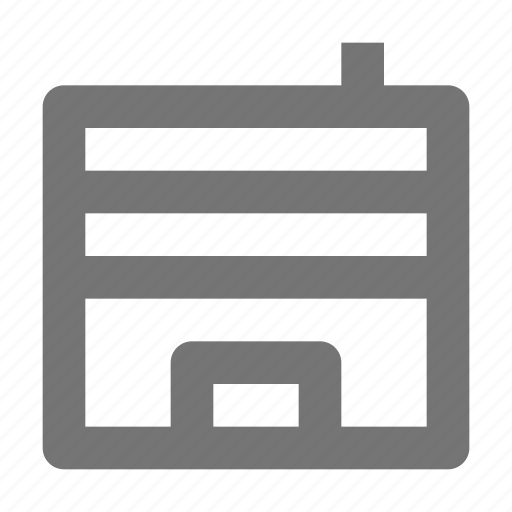 apartment, architecture, building, location, office, property icon