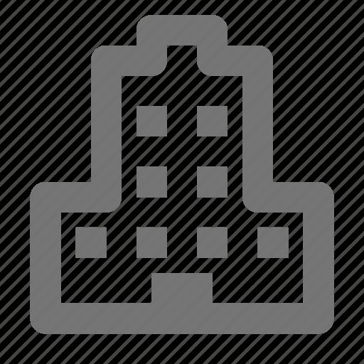 apartment, building, condominium icon