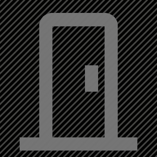 architecture, building, door, entrance, exit, house, location, property icon