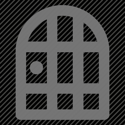 architecture, building, door, entrance, exit, location, property icon