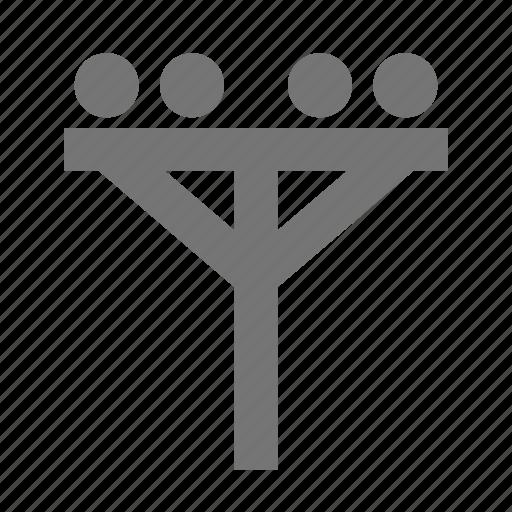 electric pole, pole icon