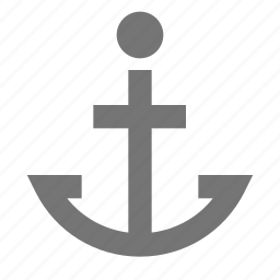 anchor, harbour, location, marine, nautical, point, safe icon