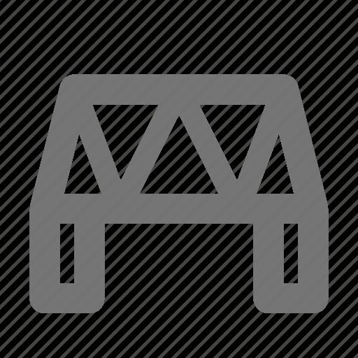 architecture, bridge, connect, cross, location, place icon