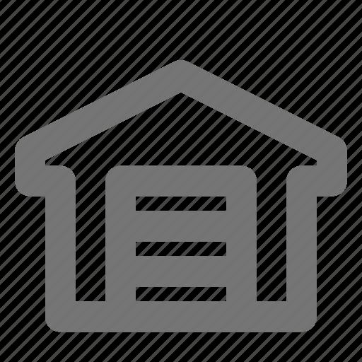 garage, storage, warehouse icon