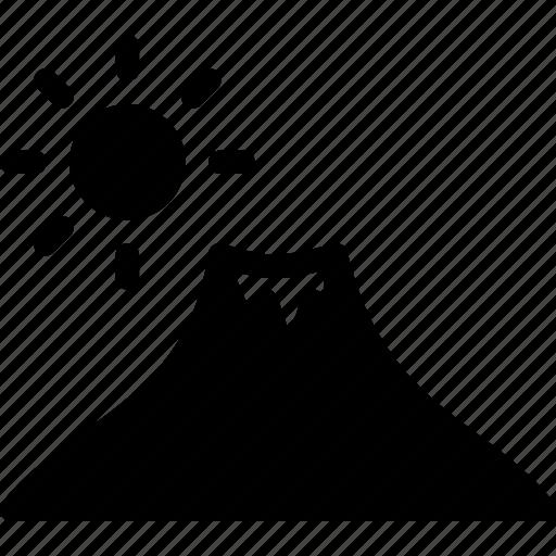 hills, kilimanjaro, landscape, mountains, station icon