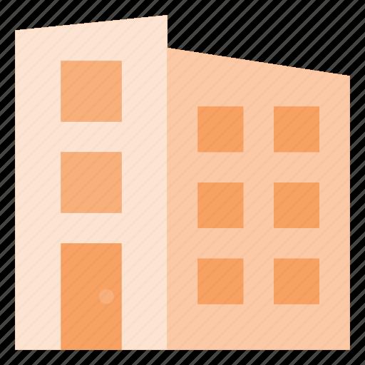 apartment, architecture, block, building, place icon