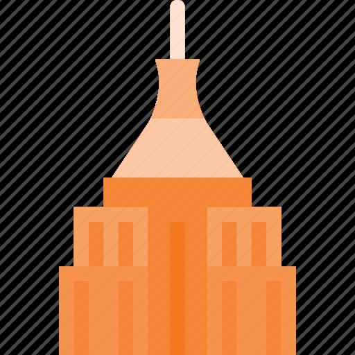 architecture, building, epire, landmark, place, state icon