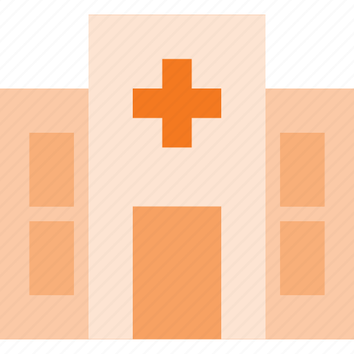 architecture, building, hospital, landmark, place icon