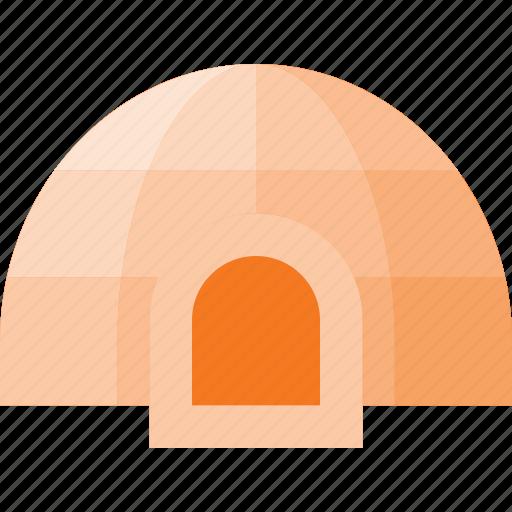 architecture, building, igloo, landmark, place icon