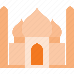architecture, building, landmark, mahal, place, taj icon