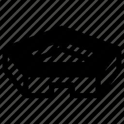 creative, geometric, pattern, pentagon, shape icon