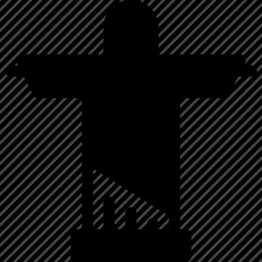 christ, de, jan, religion, rio icon