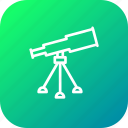 astronomy, glass, lense, sky, spectrum, telescope, tracker icon