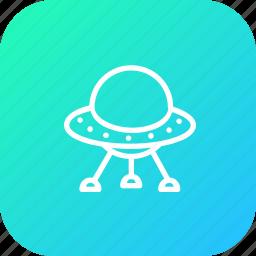 alien, galaxy, invasion, solar, spaceship, system, universe icon
