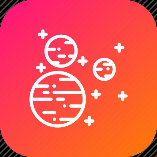 galaxy, mars, satellite, space, sun, universe, uranus icon
