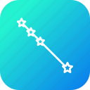 astrology, galaxy, pattern, shape, space, star, straight icon