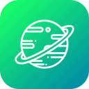 astrology, galaxy, planet, saturn, solar, system, universe icon
